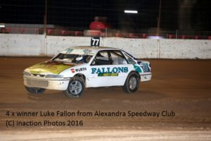 Luke Fallon - Photo courtesy of Inaction Photos