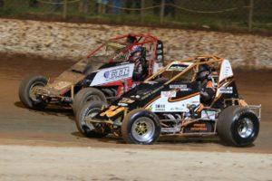 Travis Millar #93 and Ebony Hobson #89 - Photo courtesy of CBM Photography
