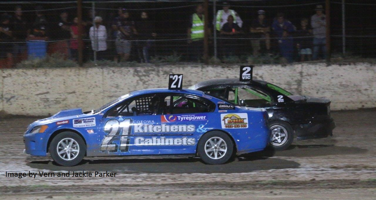 Clint Henderson #21 & Nathan Shortis #2 - Photo courtesy of Vern and Jackie Parker
