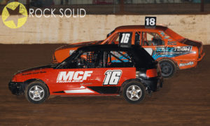 Jade Moule #16 and Kasey Ferguson #18 - Photo courtesy of Rock Solid Productions