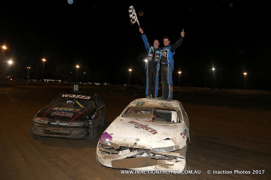 Luke Fallon and Brad Warren - Photo courtesy of Inaction Photos