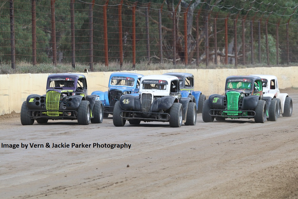 Legend Cars - Photo courtesy of Vern and Jackie Parker Photography
