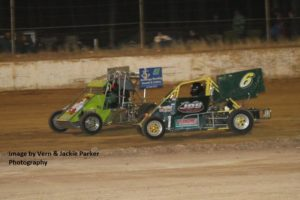 #51 Danny Stainer, #6 Janelle Saville - Photo courtesy of Vern and Jackie Parker Photography
