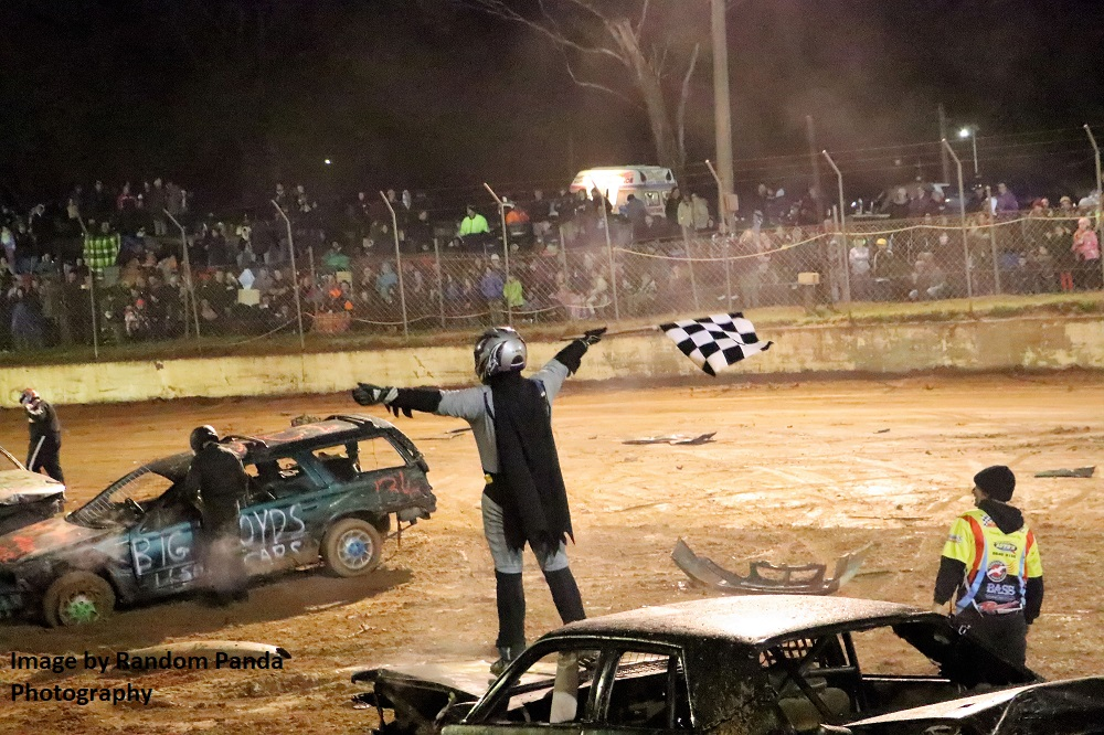 Batman Wins Demolition Derby - Photo courtesy of Random Panda Photography