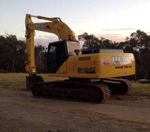 Beach Earthmoving, sponsor of this years Goulburn Ovens Sedan State Title