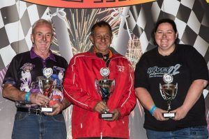 Top 3 (l-r) Phil Jenkins 2nd, Stand Marco Snr 1st, Kali Hovey 3rd - Photo Courtesy of Shane T  Wright Photography