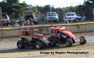 #25 Russell Hovey, #5 Stan Marco Snr - Photo courtesy of Napier Photography