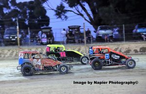 #84 Shannon Meakins, #11 Stan Marco Jnr, #5 Stan Marco Snr - Photo courtesy of Napier Photography