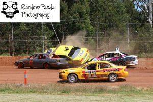 Steven Danks Crash - Photo courtesy of Random Panda Photography